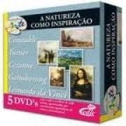 Grandes Mestres da Arte - A Natureza Como Inspiração - 5 DVD's