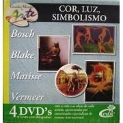 Grandes Mestres da Arte - Cor, lúz, simbolismo - 4 DVD's