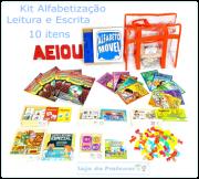 Kit Alfabetização, Leitura e Escrita 10 Itens