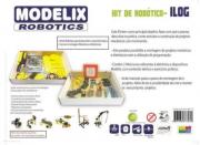 Kit de Robótica ILOG Brinquedo Educativo - Modelix