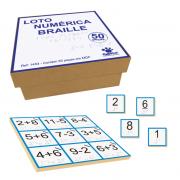 Loto Numérica Braille - Madeira