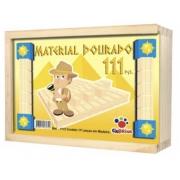 MATERIAL DOURADO 111 PCS  ALUNO - CIABRINK - CAIXA MADEIRA