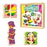 Quebra Cabeça Brinquedos - Madeira