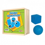Sólidos Geométricos 11 peças