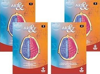 Arte & Matemática 4 DVD's- Cultura Marcas