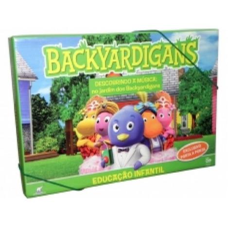 Backyardigans 4 DVD's - Descobrindo a Musica