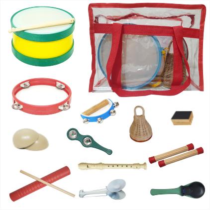 Bandinha Rítmica 12 Instrumentos