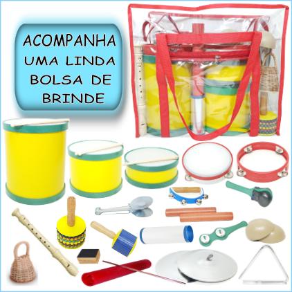Bandinha Rítmica 20 instrumentos