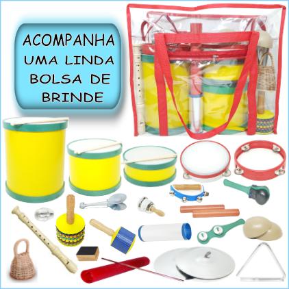 Bandinha Rítmica 22 instrumentos