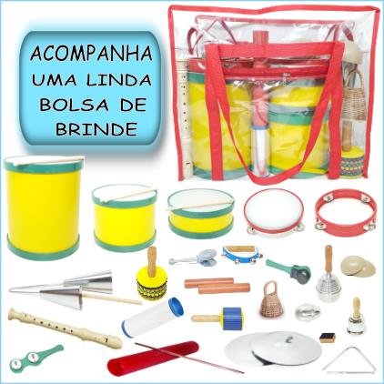 Bandinha Rítmica 24 instrumentos