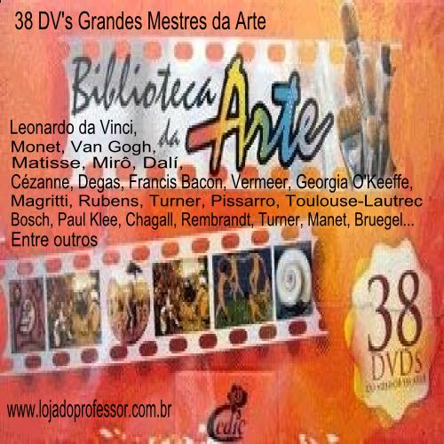 Biblioteca da Arte 38 DVD's