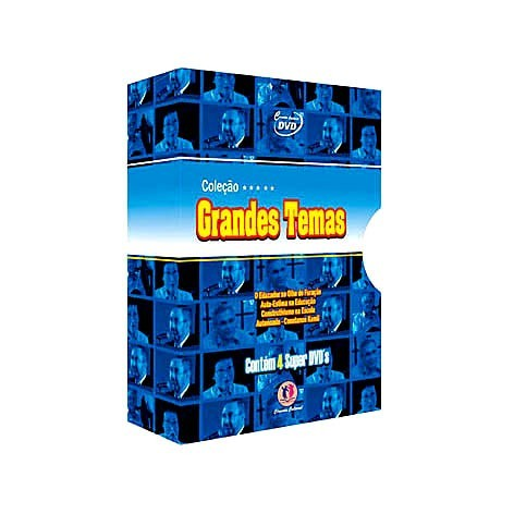 Coleção 4 DVDs - Grandes Temas