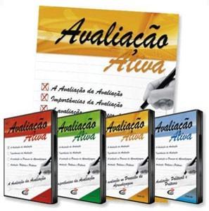 Coleção Avaliação ativa - 4 DVD's + livro
