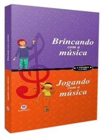 Coleção Brincando Com a Música - Jogando Com a Música - 2 Vols - 2 CDs