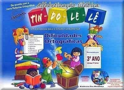 Coleção Dificuldades Ortográficas TIN-DO-LE-LÊ (3º ano) Antiga 2ª série