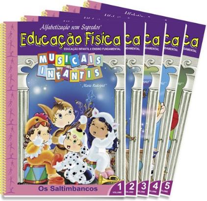 Coleção Educação Física – Musicais Infantis