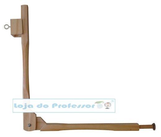 Compasso de madeira para quadro branco