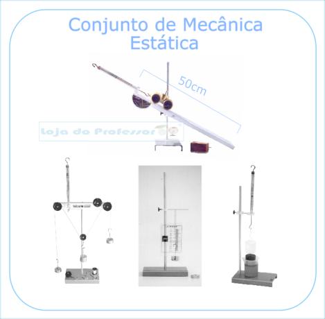 Conjunto de Mecânica Estática