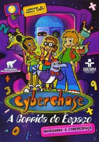 CyberChase - A corrida do espaço - 04 DVDs