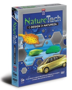 Design da Natureza - DVD NatureTech- Kit c/ 3 dvd's e 1 livro