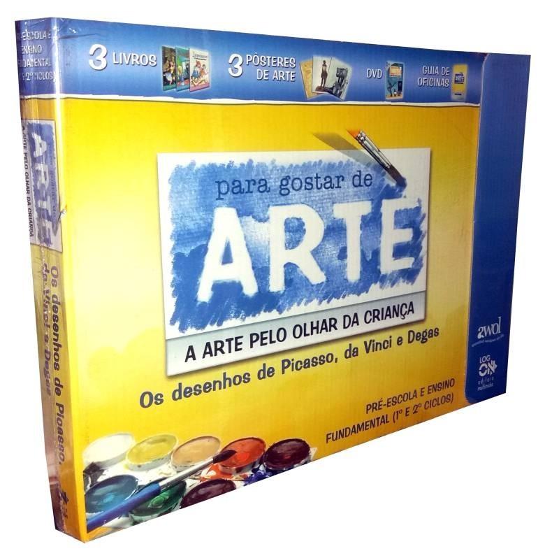 DVD's Para Gostar de Arte 1 - Os Desenhos de Da Vinci, Picasso e Degas