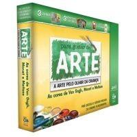 DVD's Para Gostar de Arte 2 - As Cores de Van Gogh, Monet e Matisse
