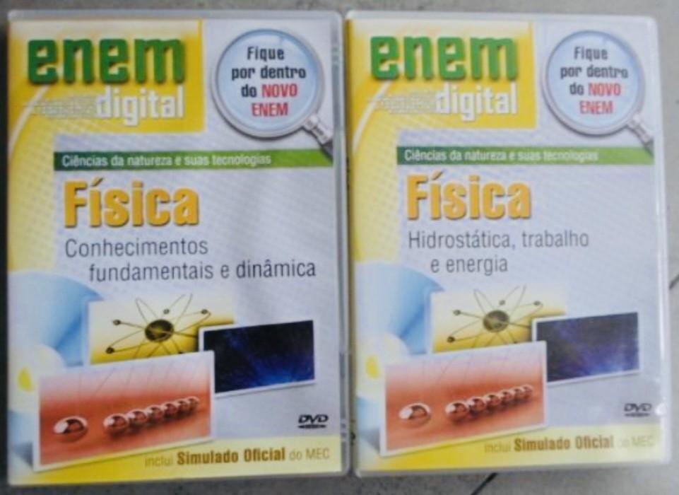 ENEM DIGITAL FÍSICA - 4 DVD´S