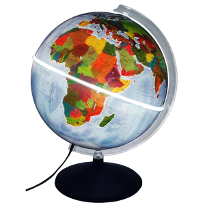 Globo Físico e Político Mondo - com luz