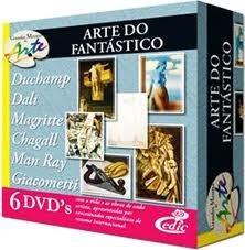 Grandes Mestres da Arte - Arte do Fantástico - 6 DVD's