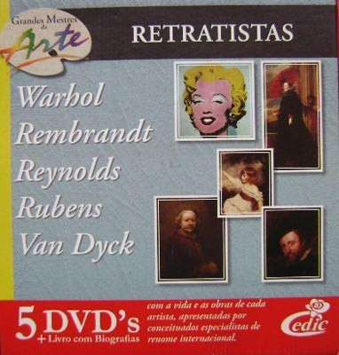 Grandes Mestres da Arte - Retratistas - 5 DVD's