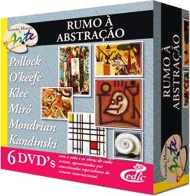 Grandes Mestres da Arte - Rumo Abstração - 6 DVD's