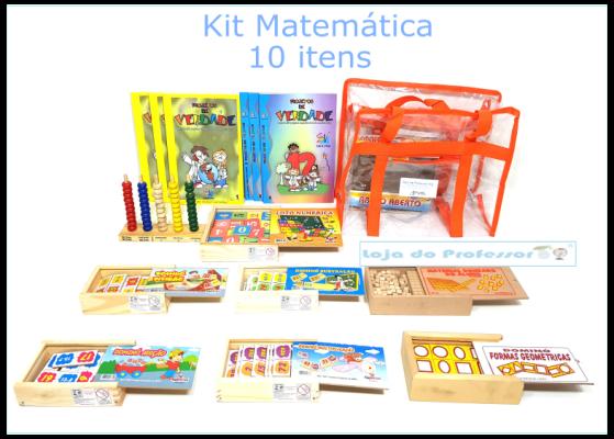 Kit Matemática 10 itens