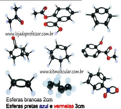 Kit Molecular Química Orgânica