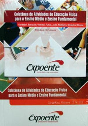 Livro Coletânea de Atividades de Educação Física Ensino Fundamental