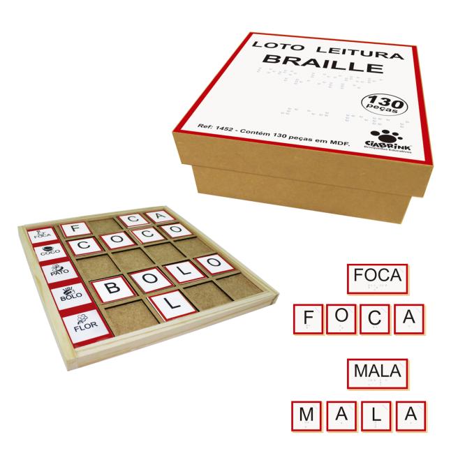 Loto Leitura Braille - Madeira