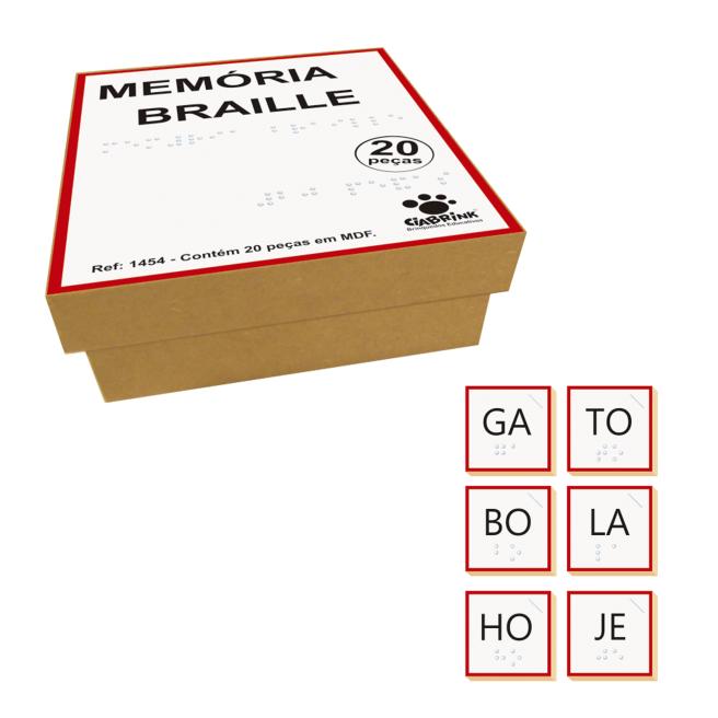 Memória Silabas Braille