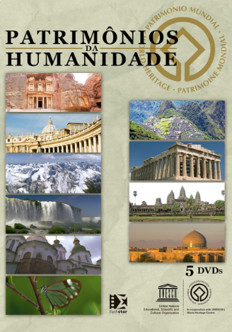 Patrimônios da Humanidade - Volume I - 5 DVD's