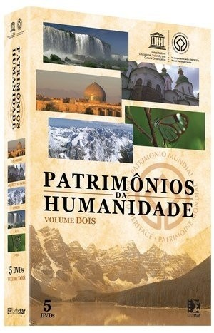 Patrimônios da Humanidade - Volume II - 5 DVDs