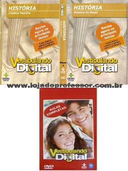 Vestibulando de História - 2 DVD's