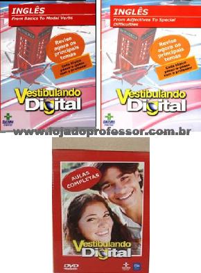 Vestibulando Digital de Inglês - 2 DVD's