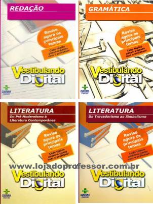 Vestibulando Digital de Português - 4 DVD's