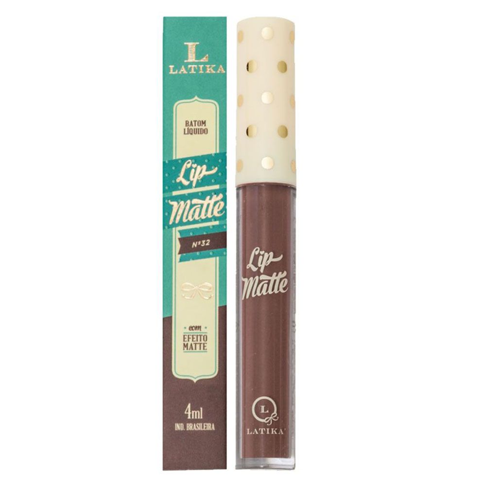 Batom Liquido Lip Matte - Latika