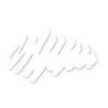 Branco  04 - Lápis de Olho Carbon Dailus