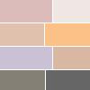 A - Paleta de Sombras Matte Beauty Squares Luisance
