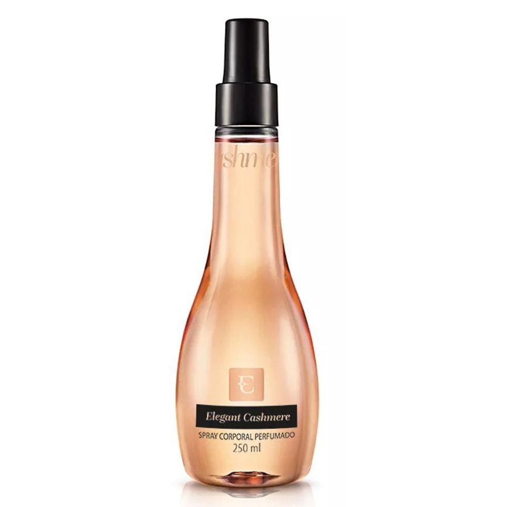 Deo Colônia Spray Corporal Perfumado Elegant Cashmere 250ml - Eudora
