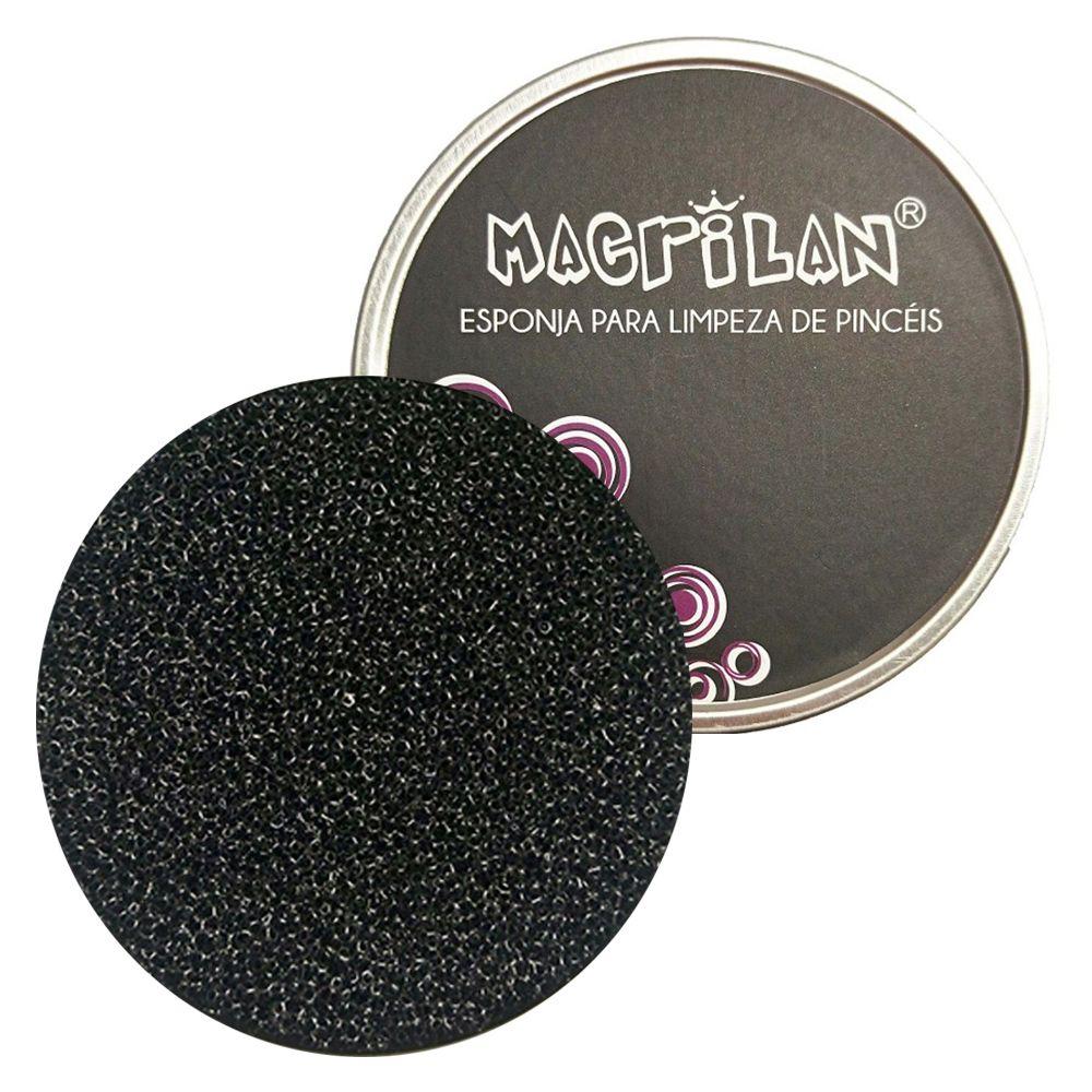 Esponja para Limpeza de Pincéis CP-04 - Macrilan