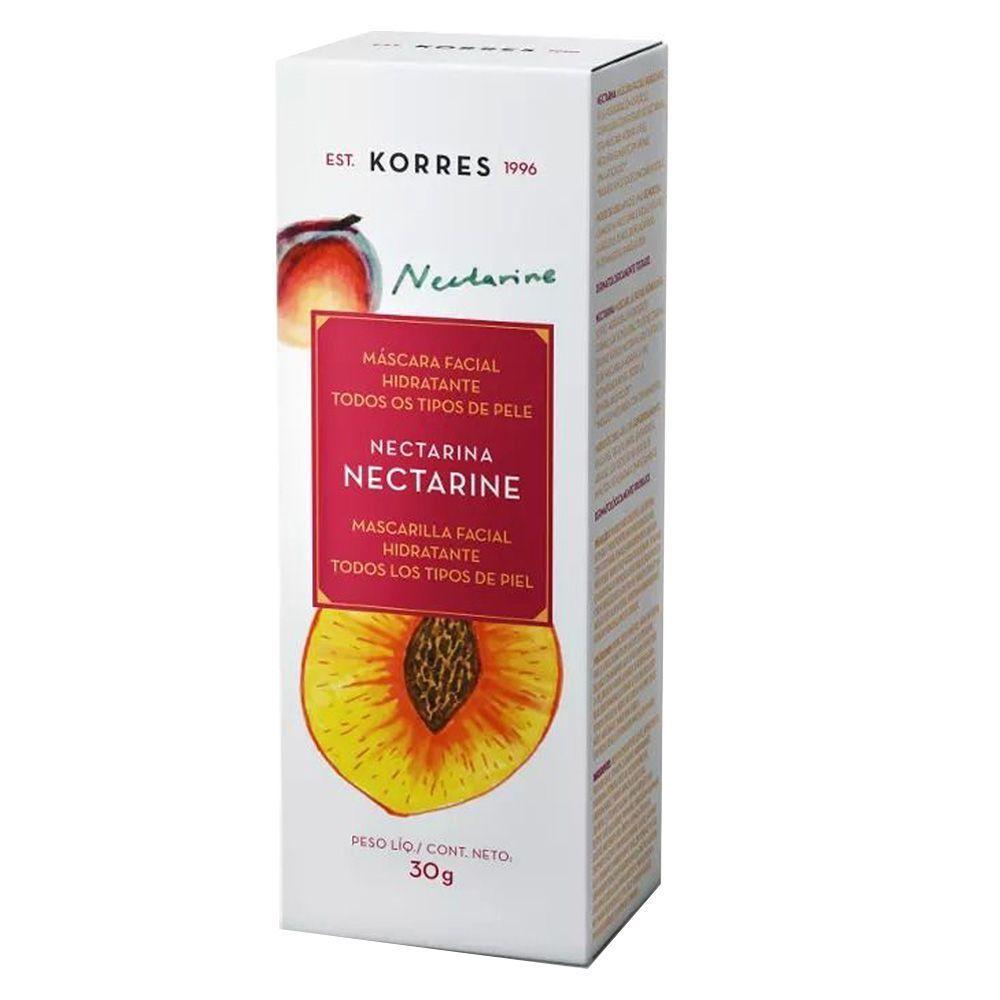 Máscara Facial Hidratante Nectarina 30g - Korres
