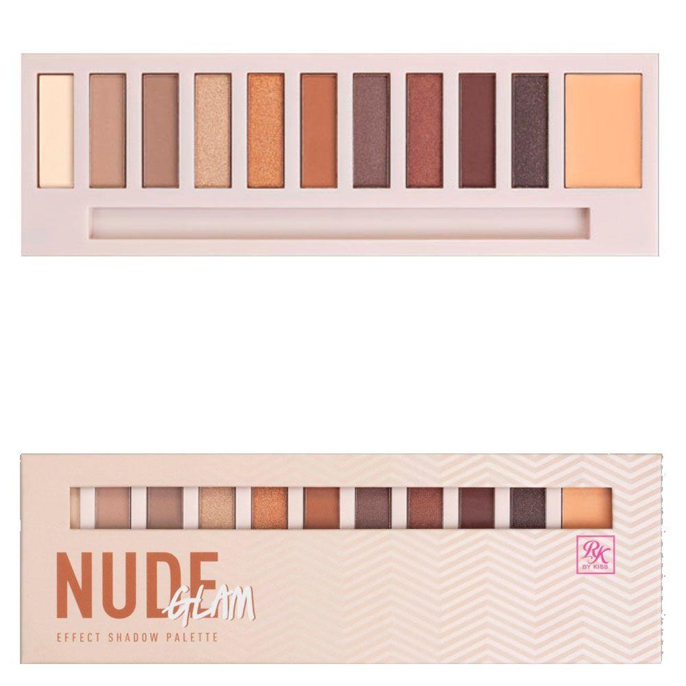 Paleta de Sombras Nude Glam - Ruby Kisses