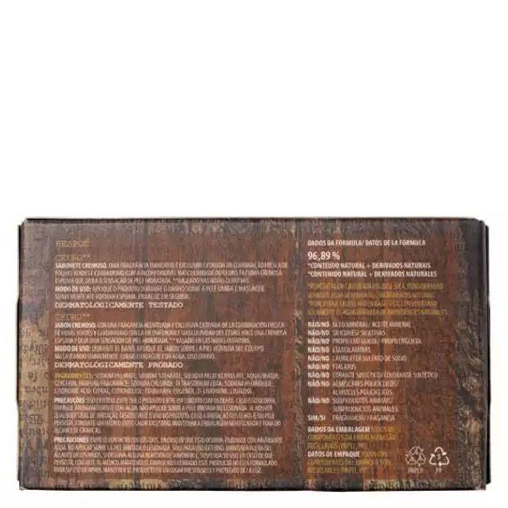 Sabonete Cremoso Cedro 90g - Korres