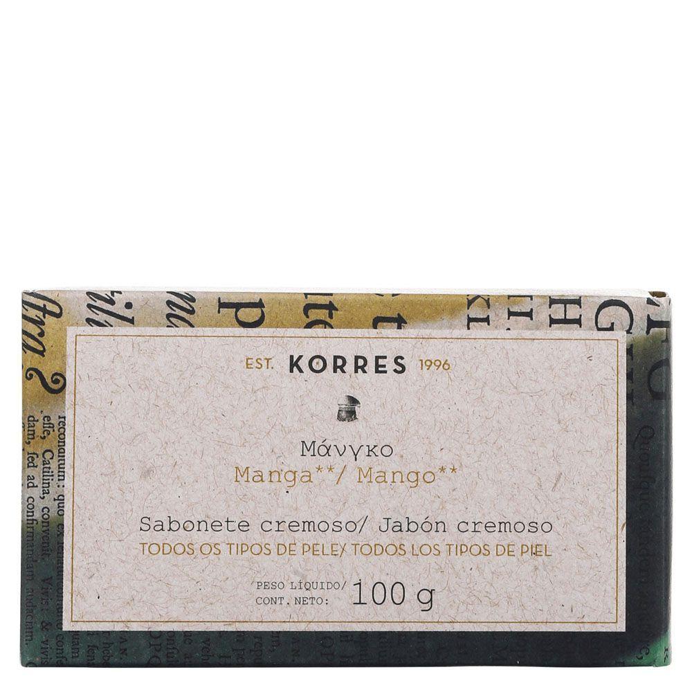 Sabonete Cremoso Manga 100g - Korres